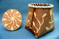 Birchbark basket. Photo by Paulette Werger.