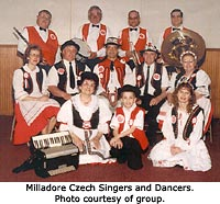 The Milladore Czech Singers and Dancers