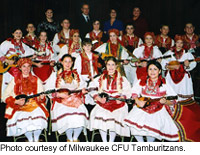 Milwaukee CFU Tamburitsans.