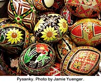 Pysanky. Photo by Jamie Yuenger.