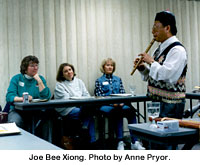 Joe Bee Xiong. Photo by Anne Pryor.